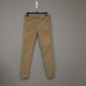 American Eagle Outfitters Knaki skinny jeans